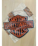 "Harley Davidson Motorcycle Shield Logo Patch 6"" x 4 1/2"" New Unused - $14.85"
