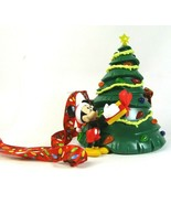 Disney Parks Mickey Light Up Tree Popcorn Bucket Christmas Holidays 2019... - $62.89