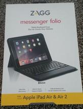 ZAGG Messenger Folio Case For IPAD AIR/AIR 2/  Free Shipping - $47.19