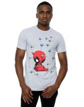 Marvel Men's Deadpool Cartoon Knockout T-Shirt (Small) - £8.78 GBP+
