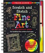 Scratch & Sketch Fine Art (Trace Along) [Spiral-bound] Peter Pauper Press - $14.99