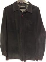 Liz Claiborne Ladies Suede Leather Jacket, Size XL, Black - Vintage - $29.81