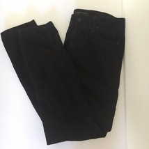 Banana Republic Womens Corduroy Pants Black Ryan Fit Cords Skinny Leg Size 6 - $22.19