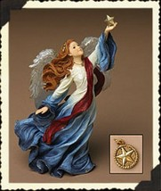 """Boyds Charming Angel """"Victoria... Guardian of Freedom""""  #28238-  2E- New - $59.99"""