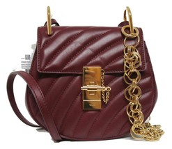New Chloe Drew Mini Bijou Chain Quilted Calf Leather Messenger Bag - $1,370.04