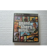 Grand Theft Auto V Sony Playstation 3 Complete With Map GTA V PS3 CIB - $11.54