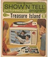 Treasure Island Show 'N Tell Picturesound Program 1964 Vintage ST 115 - $9.89
