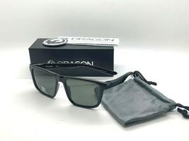 DRAGON Sunglasses POLARIZED DREDGER 001 SHINY BLACK/GREY 56-16-145 NEW I... - $46.45