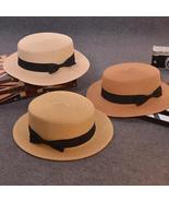 Fashion Parent-child sun hat Cute children sun hats bow hand made women ... - $5.37