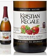 Kristian Regale Sparkling Fruit Juices 4 Packs (Lingonberry-Apple) - $29.39