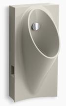 Kohler Steward Hybrid High-Efficiency Urinal K-5244-ER-G9 In Sandbar - $176.40