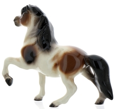Hagen-Renaker Miniature Ceramic Horse Figurine Calico Pony Leg Up image 7