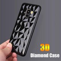 3D Diamond Soft Case for Samsung galaxy A7 A6 A8 J2 J8 A9 J4 J6 Plus 2018 S8 S9  - $11.07