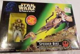 Princess Leia Speeder Bike Power Of The Force POTF STAR WARS Vintage Endor Gear - $29.39