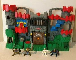 Fisher Price Imaginext Great Adventures Fold and Carry Castle 2005 Play Set Gray - $39.99