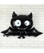 88cm * 64cm black bat Halloween foil balloon toys for children birthday ... - $4.95 CAD