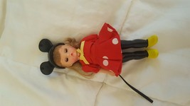 Disney 2004 Alexander miniature  girl doll with Mickey Mouse ears rare - $7.43