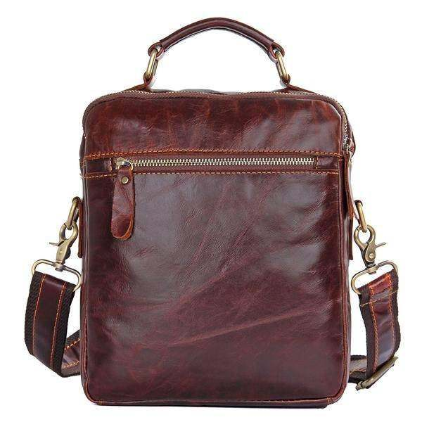 Sale, Men's Leather Satchel Bag, Messenger Bag, Leather Messenger, Shoulder Bag image 3