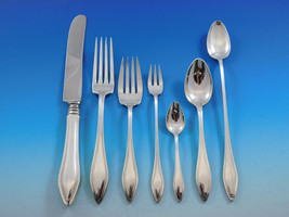 Mary Chilton by Towle Sterling Silver Flatware Set For 8 Service 62 Pieces - $2,950.00
