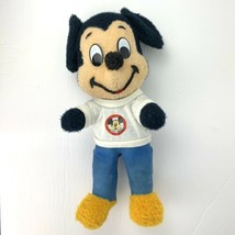 """Vintage 50's Mickey Mouse Plush With """"Mickey Mouse Club"""" T-Shirt Good Co... - $42.08"""
