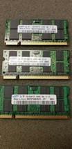 6GB total on 3pcs - Samsung 2GB SO-DIMM DDR2Laptop Memory (M470T5663***... - $14.52