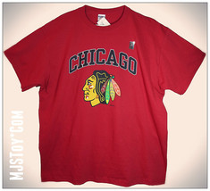 NWT Chicago NHL Hockey Team Blackhawk Red Patrick Kane 88 Jerzees T-Shir... - $24.99
