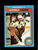 1979-80 Topps #49 Bob Sauve Nm Sabres *X5104 - $2.23