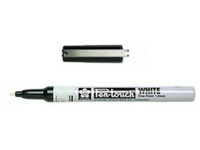SAKURA COLOR Pen-Touch White Paint Marker (SAK42300)