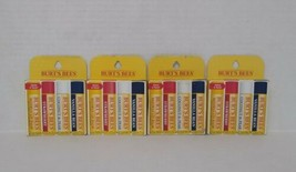 **Damaged Box** Set of 4: Burt's Bees 100% Natural Moisturizing Lip Balm... - $24.75