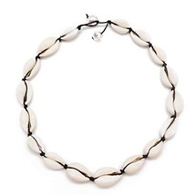 Daogtc Natural Shell Necklaces Beads Handmade Hawaii Beach Choker for Gi... - $7.25