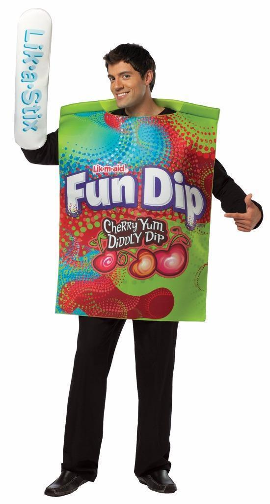 Fun Dip Adult Costume Tunic Food Halloween Party Unique Cheap GC3985