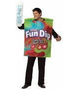 Fun Dip Adult Costume Tunic Food Halloween Party Unique Cheap GC3985 - £37.04 GBP