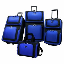 U.S Traveler New Yorker Lightweight Expandable Rolling Luggage 4-Piece Suitcases - $145.96+