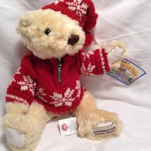 NEW Herrington Teddy Bears set of 2 Winter-themed Bears image 3