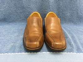 Sandro Moscoloni 62046 Slip-On Men's Brown Loafer Shoe Size 8D GUC - $37.76
