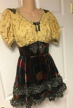 Vintage Professional Theater Costume Gypsy Girl Designed By Costumer Kay... - $65.09