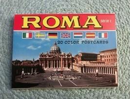 Vintage Postcards - ROMA Serie I - Kodak Ektachrome (7 cards, unposted) - $12.00