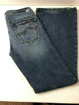 SILVER 77 Flare Bootcut Distressed Stretch Jeans Womens Size 29/33 - $27.50