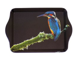Eisvogel Blau Orange Gelb Weiß Schmuck Tablett 21CM X 14CM - $16.75