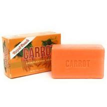 Carrot Soap 125 g   Original Herbal Skin Complexion Bar - $6.76+