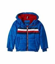 Tommy Hilfiger Boys Logan Puffer Jacket Blue Size 5 - $51.38