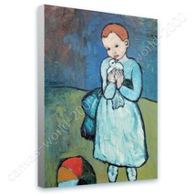 CANVAS (Rolled) Child With Dove Pablo Picasso Art Wall Decor Paintings - $13.67+