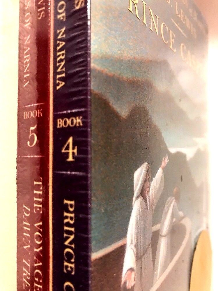 Chronicles of Narnia Books 4,5,6 Factory sealed paperbacks new