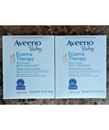 Lot 2 Aveeno Baby Soothing Bath Treatment Packets Eczema Therapy Expires... - $8.59