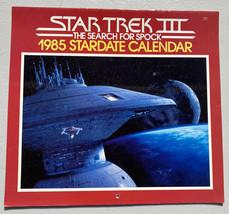 1985 Star Trek Calendar Pocket Books Wall Hanging - Unused - $11.96