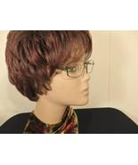 Women Eyeglass Frame Rectangle Square Round Prescriptio Rx Brown Rim Len... - $47.53