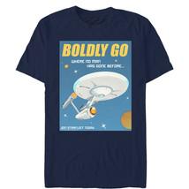Star Trek Vintage Join Starfleet Poster Mens Graphic T Shirt - $10.99