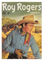 1992 Arrowpatch Roy Rogers Comics Trading Card #40 > Trigger > Happy Trail - $0.99