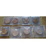 President First Lady Denver Mint U.S. Mint Miniature Bronze 8 Medals 32 MM - $36.00