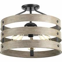 Progress Lighting P350049-143 Gulliver Three-Light Semi-Flush Convertibl... - $168.99